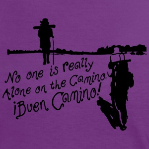 No one is alone on the camino Women's ringer T-shi - Women's Ringer T-Shirt