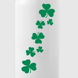 Shamrock clover leaves water bottle - Water Bottle