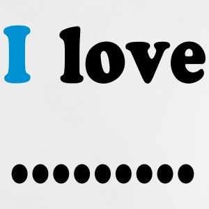 I love dot Shirts - Baby T-Shirt