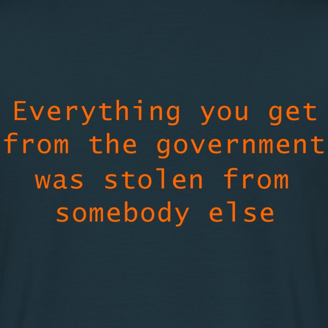 Goverment Theft (Back) T-Shirt