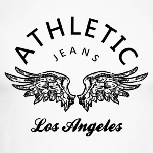 Athletic jeans los angeles Skjorter med lange armer - Langermet baseball-skjorte for menn