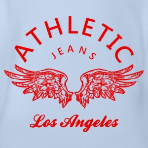 Athletic jeans los angeles T-shirts - Ekologisk kortärmad babybody