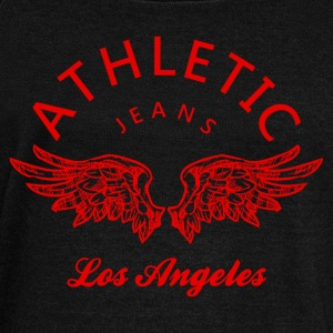 Athletic jeans los angeles Felpe - Felpa con scollo a barca da donna, marca Bella
