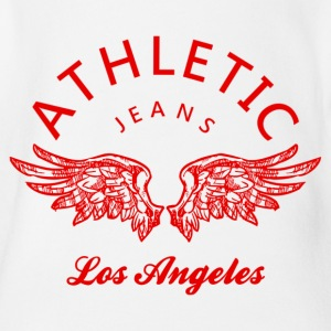 Athletic jeans los angeles Skjorter - Økologisk kortermet baby-body