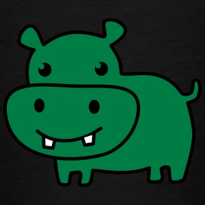 cute hippo color Tee shirts - T-shirt Enfant