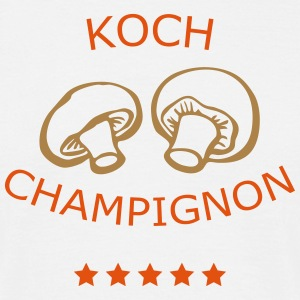T-Shirt Koch Champignon 02© by kally ART® - Männer T-Shirt