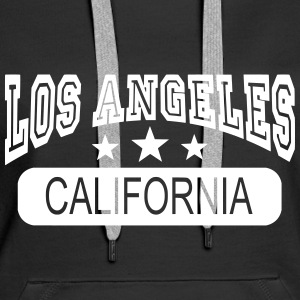 los angeles california Gensere - Premium hettegenser for kvinner