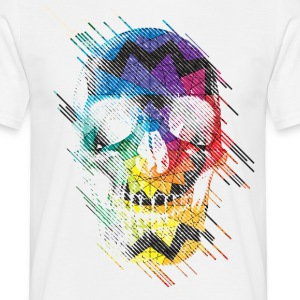 Geometric Skull T-Shirts - Men's T-Shirt