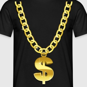 Gold Chain T-Shirts - Men's T-Shirt