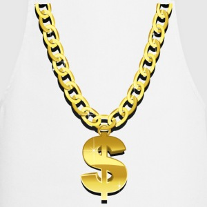 Gold Chain  Aprons - Cooking Apron