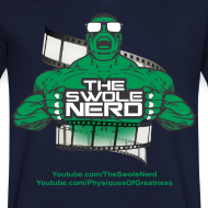 Design ~ Swole Nerd Green VNECK