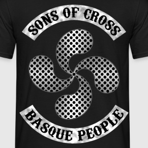 sons of basque cross Tee shirts - T-shirt Homme