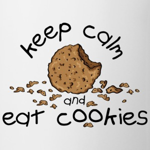 Keep calm and eat cookies Bouteilles et tasses - Tasse