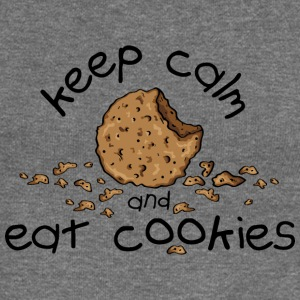 Keep calm and eat cookies Sweaters - Vrouwen trui met U-hals van Bella