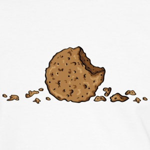 Cookie, only cookie T-Shirts - Männer Kontrast-T-Shirt