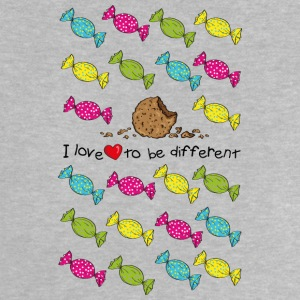 I love to be different- cookie Shirts - Baby T-Shirt