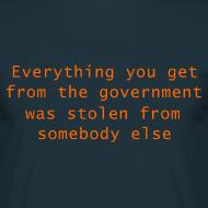 Design ~ Goverment Theft (Front) T-Shirt