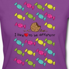 I love to be different- cookie T-Shirts