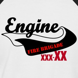 Your Fire Engine - Männer Baseball-T-Shirt