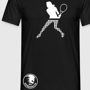 tennis_2 T-shirts - Mannen T-shirt