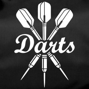 darts Club team sports fan Dartboard Logo Bags & backpacks - Duffel Bag