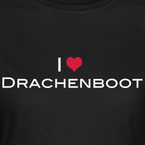 I love Drachenboot 2c T-Shirts - Frauen T-Shirt