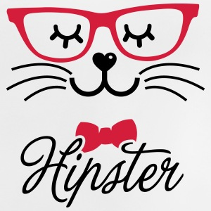 Love a hipsta hipster glasses bunny rabbit face Shirts - Baby T-shirt