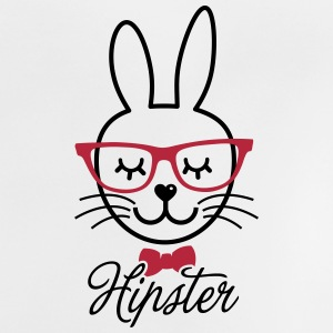 Like a hipsta hipster easter bunny rabbit face Shirts - Baby T-Shirt