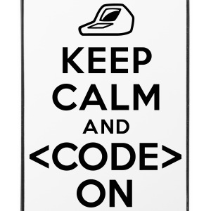 Keep calm and code on Autres - Coque rigide iPhone 4/4s