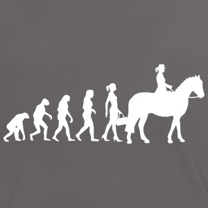 Evolution Ladies Riding T-Shirts - Frauen Kontrast-T-Shirt