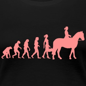 Evolution Ladies Riding T-Shirts - Women's Premium T-Shirt