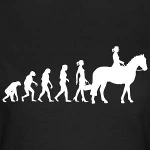 Evolution Ladies Riding T-Shirts - Women's T-Shirt