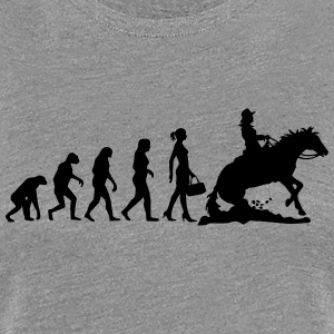 Evolution Ladies Western Riding T-Shirts - Frauen Premium T-Shirt