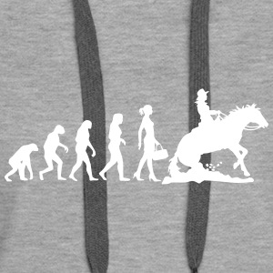Evolution Ladies Western Riding Hoodies & Sweatshirts - Women's Premium Hoodie