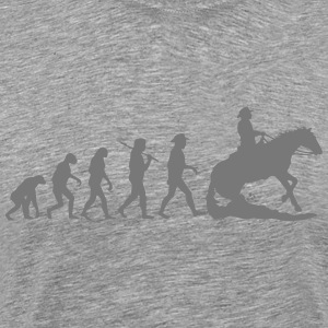 Evolution Mens Western Riding T-Shirts - Men's Premium T-Shirt