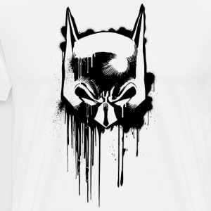 Batman Mask Graffiti 2 herre-T-shirt - Herre premium T-shirt