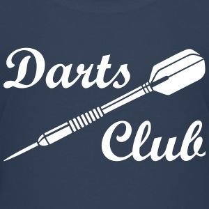 Darts Club Dart Sports Logo Game T-Shirts - Teenage Premium T-Shirt