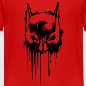 Batman masque graffiti 2 Tee-shirt Ado - T-shirt Premium Ado
