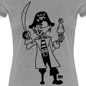 Pirate T-Shirts - Women's Premium T-Shirt
