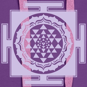 Shri Chakra Yantra -  cosmic conductor of energy Hoodies & Sweatshirts - Women's Premium Hoodie