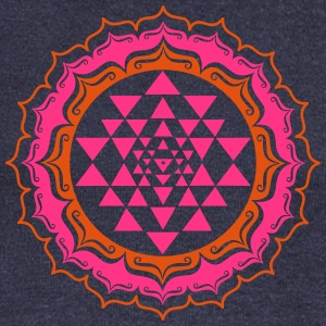 Shri Chakra Yantra - Cosmic Energy Generator Hoodies & Sweatshirts - Women's Boat Neck Long Sleeve Top
