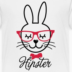 Love cute hipsta hipster easter bunny rabbit face Shirts