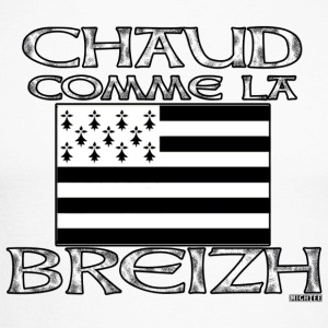 chaud_comme_la_breizh Tee shirts manches longues - T-shirt baseball manches longues Homme