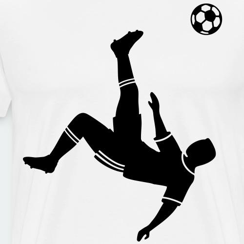 Fallrückzieher Fußball  Ball Fußballer