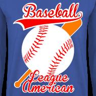 Motif ~ Pull homme baseball league american