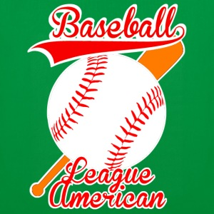 baseball league american Sacs - Tote Bag