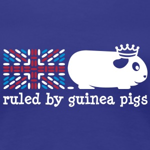 'Ruled by Guinea Pigs' Ladies T-Shirt - Women's Premium T-Shirt