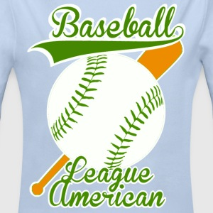 baseball league american Pullover & Hoodies - Baby Bio-Langarm-Body
