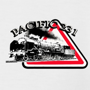 LOCOMOTIVE PACIFIC 231 DANGER Tee shirts - T-shirt baseball manches courtes Homme