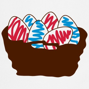 basket of Easter eggs_p1  Aprons - Cooking Apron